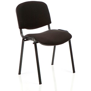 Image of Trexus Stacking Chair - Black