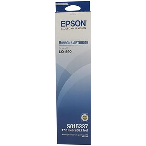 Image of Epson S015337 Black Printer Ribbon for LQ590