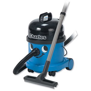 Image of Numatic Charles Vacuum Cleaner - Blue