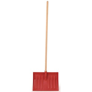 Image of Heavy Duty Red Shovel with Handle