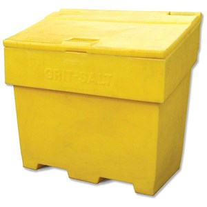 Image of Bentley Grit and Salt Bin / Polyethylene / Capacity 350kg / Weight 22kg