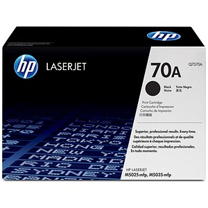 Image of HP 70A Black Laser Toner Cartridge