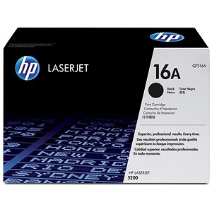 Image of HP 16A Black Laser Toner Cartridge