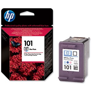 Image of HP 101 Blue Photo Ink Cartridge