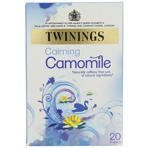 Image of Twinings Infusion Camomile Tea Bags / Individually-wrapped / Pack of 20