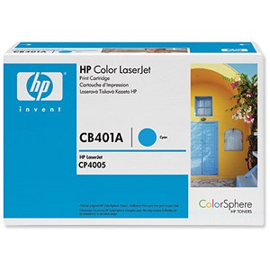 Image of HP 642A Cyan Laser Toner Cartridge