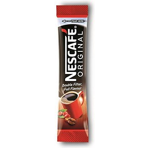 Image of Nescafe Original Instant Coffee Granules / Stick Sachets / Pack of 200
