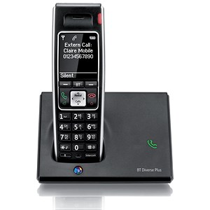 Image of BT Diverse 7410 Plus DECT Telephone Cordless SMS 200-entry Directory 10 Calls List Ref 060745