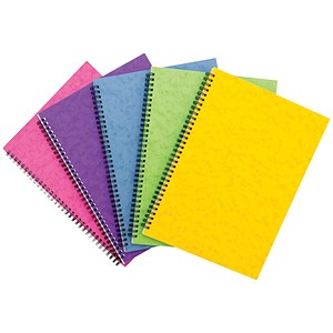 Image of Sidebound Notebook / A4 / Ruled / 120 Pages / Colour Assortment C / Pack of 10
