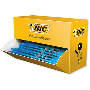 Image of Bic Cristal V2 Rollerball Pen / Gel Ink / Blue / Pack off 35 plus 5 FREE