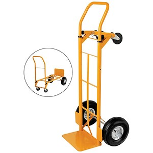 Image of 5 Star Universal Hand Trolley and Platform Truck - Capacity 250kg