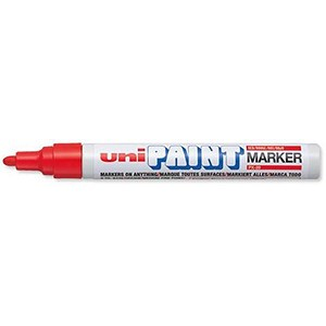 Image of Uni Paint Marker Px20 / Bullet Tip / Red / Pack of 12