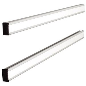 Image of Nobo T-Card Link Bars - 1 Pair - Length 772mm (Holds panels up to Size 24)
