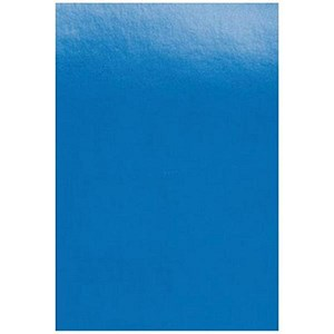 Image of GBC PolyCovers Opaque Binding Covers / 300 micron / Blue / A4 / Pack of 100