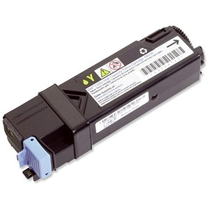 Image of Dell 2130cn High Capacity Yellow Laser Toner Cartridge