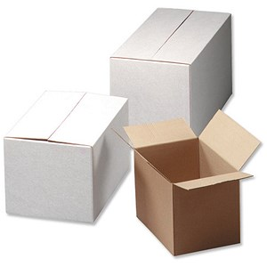 Image of Packing Box / 305x229x229mm / Oyster / Pack of 10