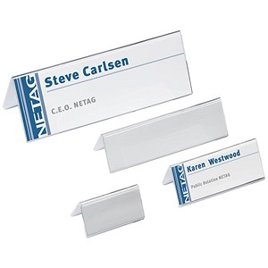 Image of Durable Table Place Name Holders / 52x100mm / Pack of 25