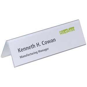 Image of Inserts for Duraprint Table Place Name Holders / 61x210mm / Pack of 20