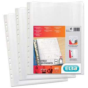 Image of Elba A4 Heavy-duty Expanding Pockets - Pack of 5