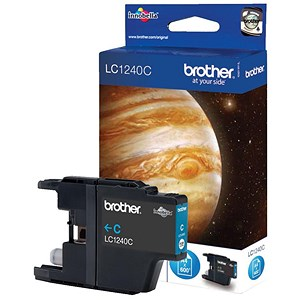 Image of Brother LC1220C Cyan Inkjet Cartridge
