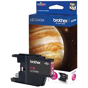 Image of Brother LC1220M Magenta Inkjet Cartridge