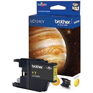 Image of Brother LC1220Y Yellow Inkjet Cartridge
