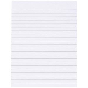 Image of Everyday Memo Pad Ruled / 200x150mm / 80 Sheets / Pack of 10