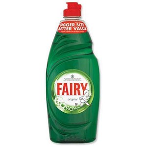 Image of Fairy Original Washing-up Liquid / 500ml / Pack of 2