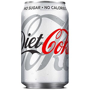 Image of Diet Coca Cola - 24 x 330ml Cans