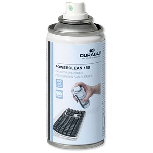 Image of Durable Powerclean Air Duster / Non-Flammable / CFC Free - Ozone Friendly / 150ml