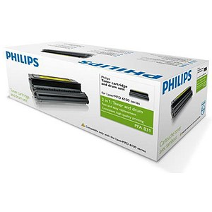 Image of Philips PFA831 Black Toner Cartridge and Drum Kit