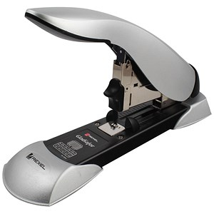 Image of Rexel Gladiator Stapler Heavy-duty Stapler / Capacity: 160 Sheets / Black