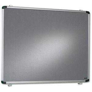 Image of Nobo Pro-Rail Notice Board / Aluminium Trim / 1200x900mm