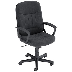 Image of Trexus High Back Managers Chair - Charcoal