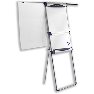 Image of Nobo Piranha Flipchart Easel / Magnetic / Extending Display Arms
