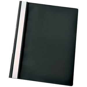 Image of Esselte A4 Report Flat Files / Black / Pack of 25