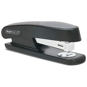 Image of Rapesco R7 Stingray Half Strip Stapler - Black
