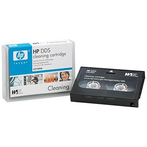 Image of Hewlett Packard (HP) DDS Cleaning Tape Cartridge - 4mm