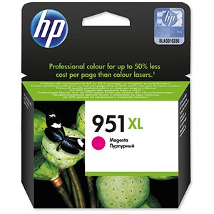 Image of HP 951XL High Yield Magenta Ink Cartridge