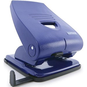 Image of Rapesco 835P Heavy-duty 2-Hole Punch / Blue / Punch capacity: 40 Sheets