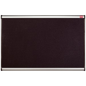 Image of Nobo Prestige Noticeboard / High-density Foam / Aluminium Trim / W900xH600mm / Black