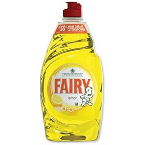 Image of Fairy Liquid for Washing-up / Lemon / 433ml / Pack of 2