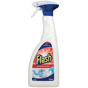 Image of Flash Clean & Shine Bathroom Cleaner / 750ml / Pack of 2