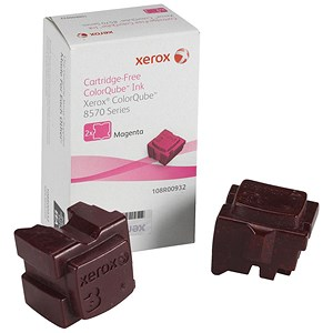 Image of Xerox ColorQube 8570 Magenta Solid Ink Sticks (Twinpack)