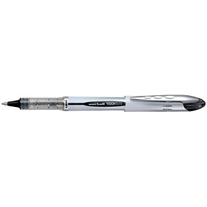 Image of Uni-ball UB200 Vision Elite Rollerball Pen / 0.8mm Tip / 0.6mm Line / Black / Pack of 12