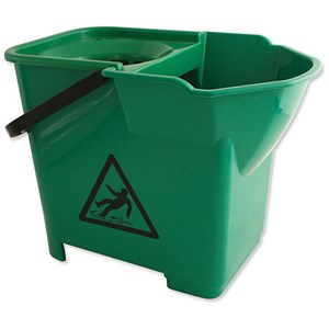 Image of Bentley Heavy Duty Mop Bucket / 16 Litre / Green