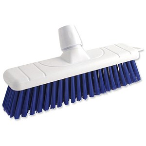 Image of Bentley Colour Coded Stiff Broom / 12 Inch Head / Blue