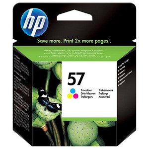 Image of HP 57 Colour Ink Cartridge