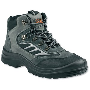 Image of Sterling Worksite Safety Hiker/Training Boots / Size 12 / Grey