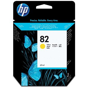 Image of HP 82 Yellow Ink Cartridge